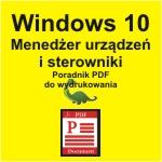 Windows 10 Menedżer urządzeń