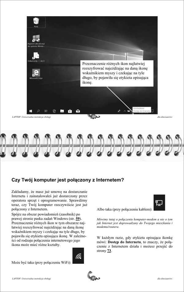 Laptop Instrukcja strony 66-67