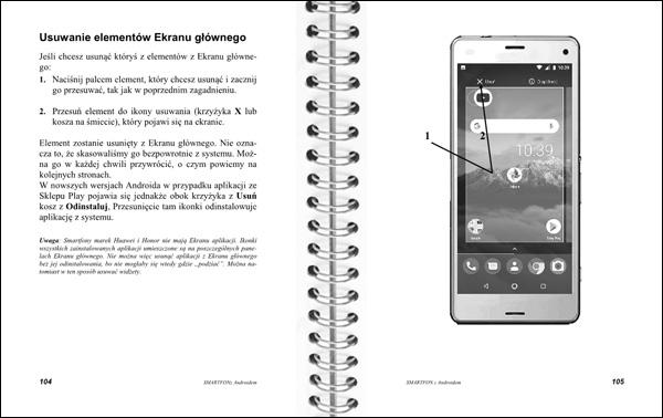 Smartfon z Androidem Instrukcja obsługi strony 104-105