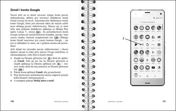 Smartfon z Androidem Instrukcja obsługi strony 130-131