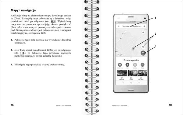 Smartfon z Androidem Instrukcja obsługi strony 154-155