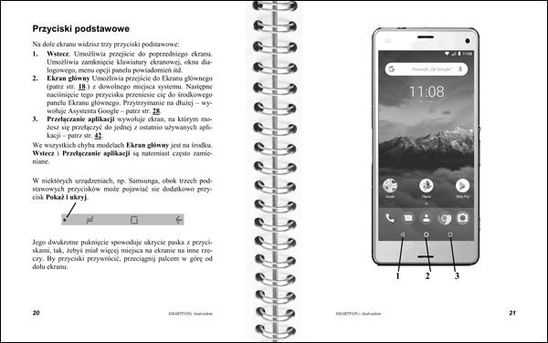 Smartfon z Androidem strony 20-21