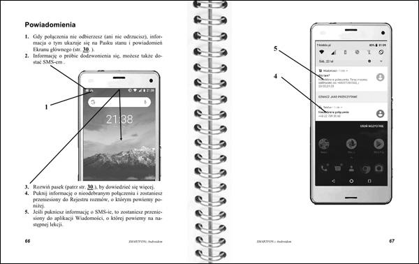 Smartfon z Androidem Instrukcja obsługi strony 66-67