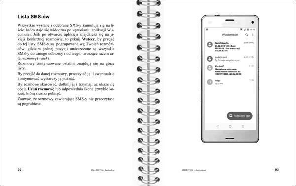 Smartfon z Androidem Instrukcja obsługi strony 92-93