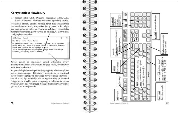 Obsługa komputera 74-75 - klawiatura
