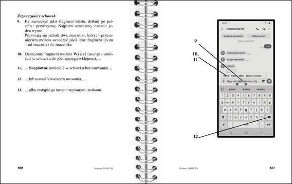 Instrukcja telefonów Samsung strony 100-101