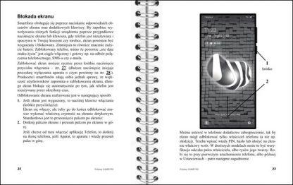 Instrukcja telefonów Samsung strony 22-23