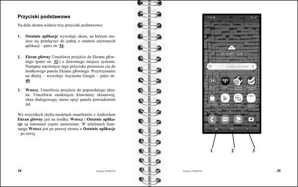Instrukcja telefonów Samsung strony 34-35
