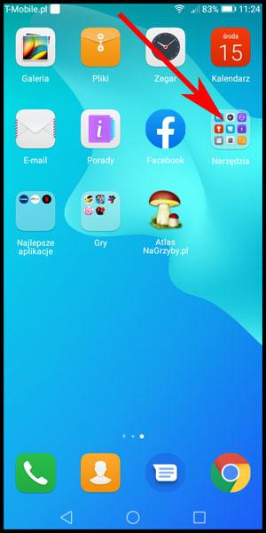 Ekran główny Huawei
